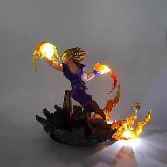 Super Saiyan Gohan Soaring Dragon Strike DIY 3D LED Light Lamp
