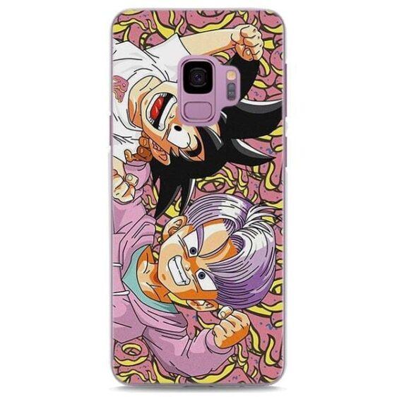 Adorable Kid Goku Trunks Samsung Galaxy Note S Series Case
