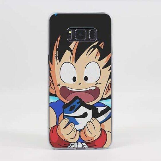 Amazed Kid Goku Fabulous Samsung Galaxy Note S Series Case