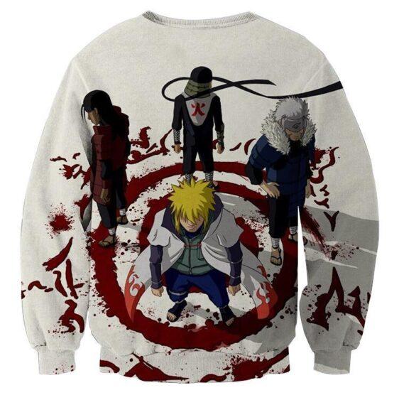 Anime Naruto Shippuden Hokage Japanese Anime Cool Sweatshirt