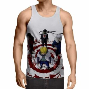 Anime Naruto Shippuden Hokage Japanese Anime Cool Tank Top