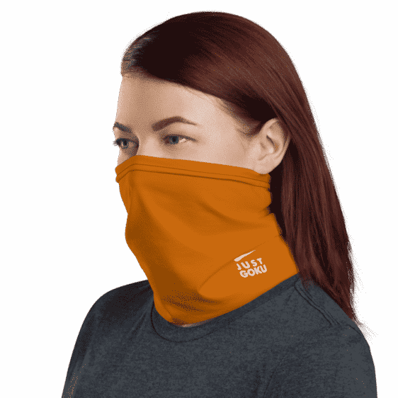DBZ Awesome Kid Goku Nike Inspired Face Covering Neck Gaiter