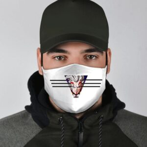 DBZ Baby Vegeta Tuffle Race Survivor White Face Mask