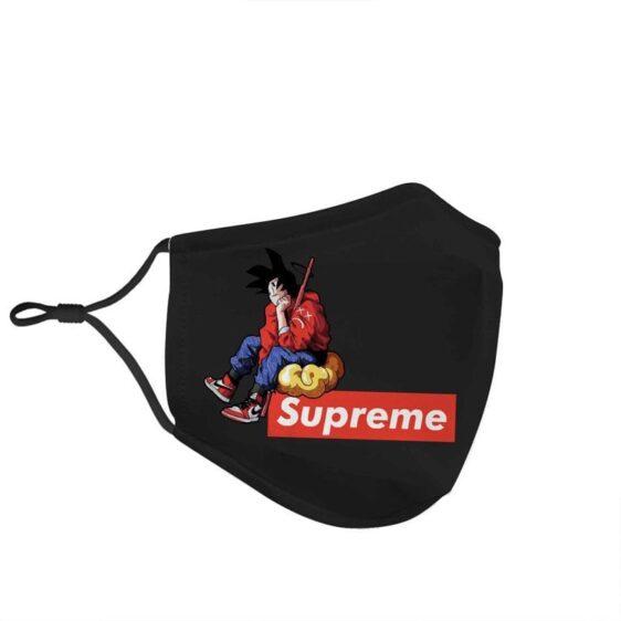 DBZ Goku Flying Nimbus & Power Pole Dope Supreme Face Mask