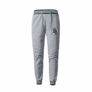 DBZ Master Roshi's Epic Kanji Symbol Light Gray Sweatpants
