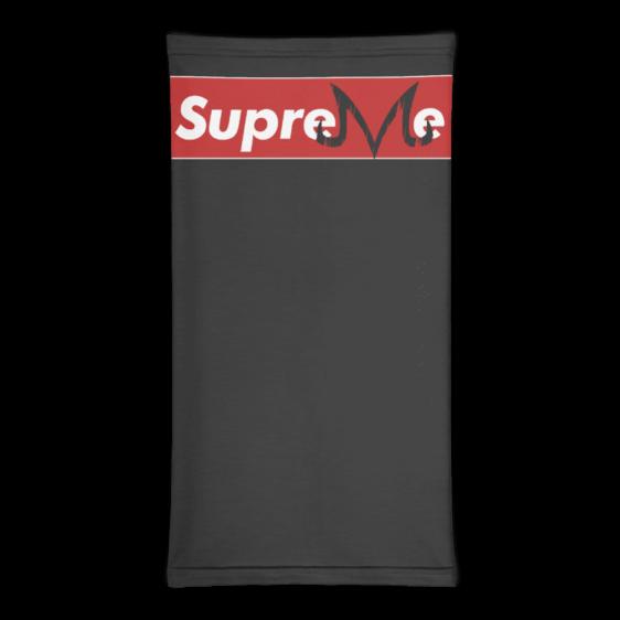 DBZ Supreme Majin Symbol Black Face Covering Neck Gaiter
