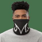 Dragon Ball Z Badass Majin Symbol Black Face Covering Neck Gaiter