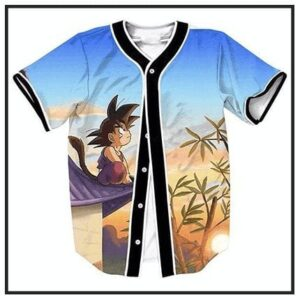Dragon Ball Z Baseball Jerseys