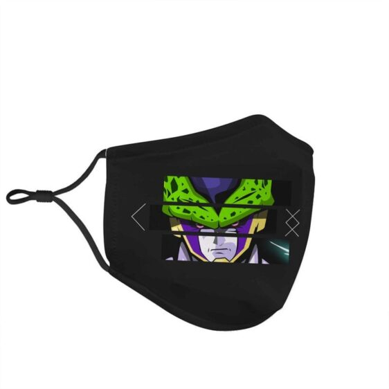 Dragon Ball Z Bio-Android Perfect Cell Art Face Mask