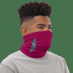 Dragon Ball Z Bunny Bulma Art Pink Face Covering Neck Gaiter