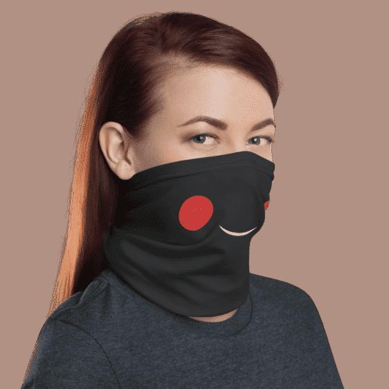 Dragon Ball Z Cool Chiaotzu Smile Face Covering Neck Gaiter