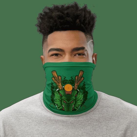Dragon Ball Z Cool Shenron Green Face Covering Neck Gaiter