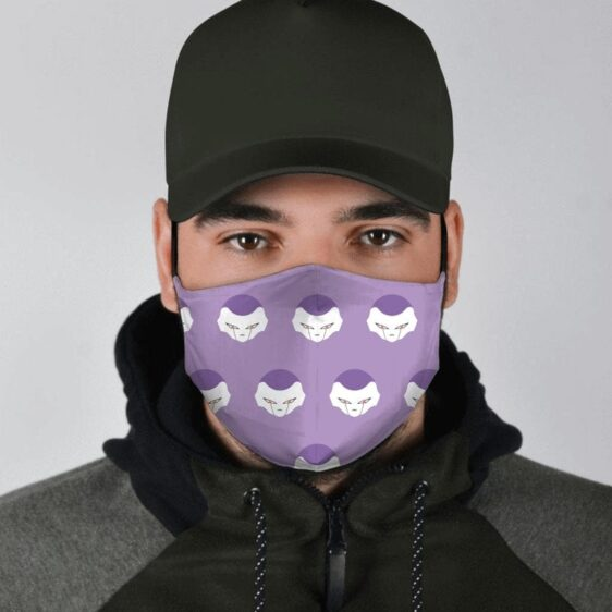 Dragon Ball Z Frieza Emperor Of Universe 7 Purple Face Mask