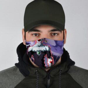 Dragon Ball Z Gigantic Humanoid Agnilasa Fan Art Face Mask