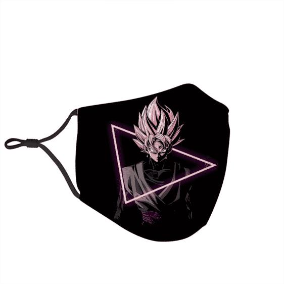 Dragon Ball Z Goku Black Super Saiyan Rose Face Mask