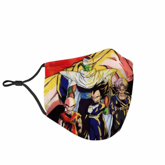 Dragon Ball Z Goku Classic Team Against Evil Face Mask