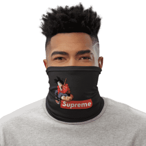 Dragon Ball Z Goku Dope Supreme Face Covering Neck Gaiter