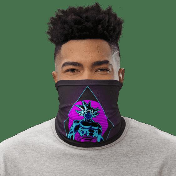 Dragon Ball Z Goku Retro Style Face Covering Neck Gaiter