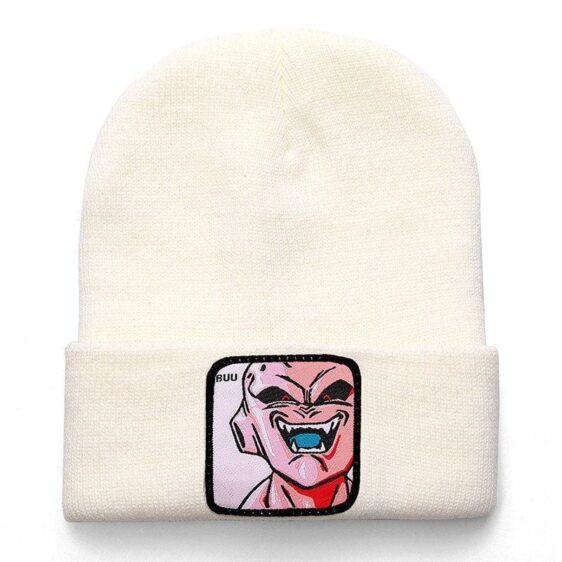 Dragon Ball Z Kid Majin Buu White Casual Winter Beanie