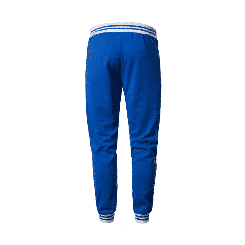Dragon Ball Z Master Roshi's Training Kanji Blue Sweatpants