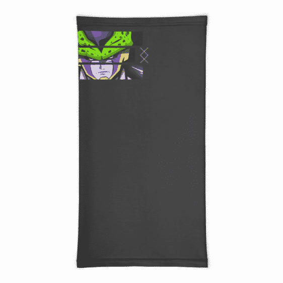 Dragon Ball Z Perfect Cell Art Face Covering Neck Gaiter