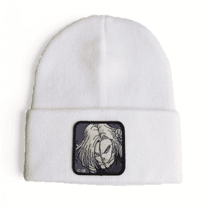 Dragon Ball Z Red Ribbon Army Android 18 White Beanie