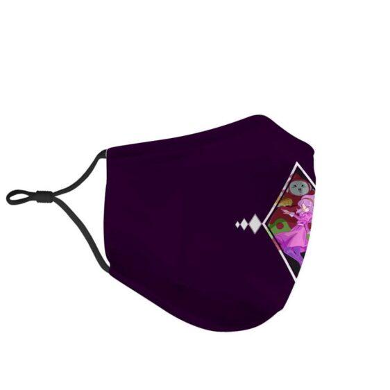 Dragon Ball Z Ribrianne Transformation Purple Face Mask