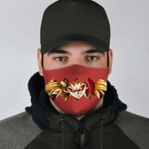 Dragon Ball Z Rycon Famous Sinister Aura Red Face Mask