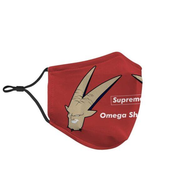 Dragon Ball Z Supreme Evil Omega Shenron Red Face Mask