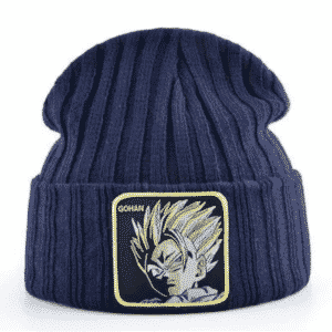 Dragon Ball Z Ultimate Gohan Navy Blue Outdoor Beanie
