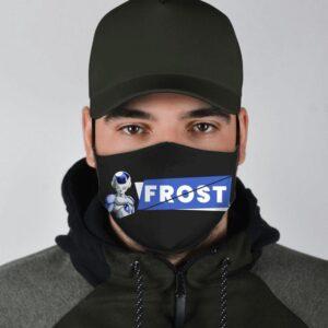 Dragon Ball Z Villain Frost Badass Art Black Face Mask