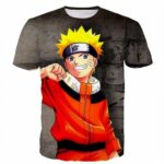 Fantastic Naruto Uzumaki Shippuden Cool Crisp Character T-shirt