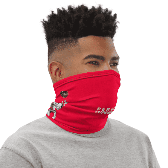 Frieza Perfect Supremacy Inspired Face Covering Neck Gaiter