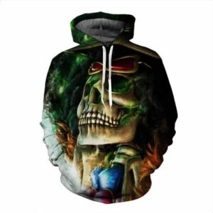 Funny One Piece Brook Soul King Anime Character Cool Dope Hoodie
