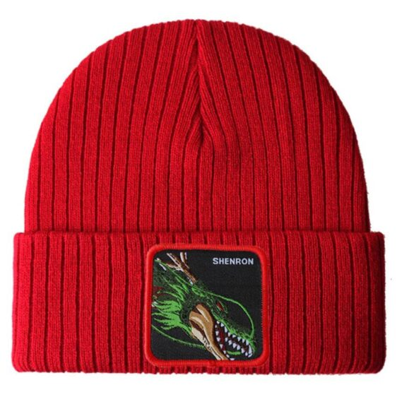 Dragon Ball Z Shenron Dragon God Red Warm Streetwear Beanie