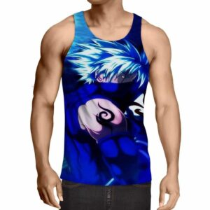 Hatake Kakashi Naruto Japanese Anime Powerful Art Tank Top