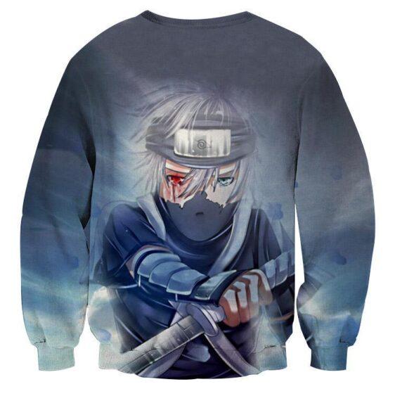 Kakashi Young Ninja Sharingan Fan Art Design Cool Sweatshirt