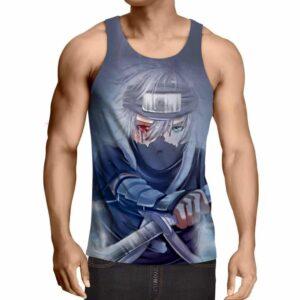 Kakashi Young Ninja Sharingan Fan Art Design Cool Tank Top