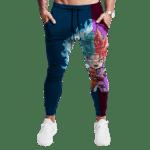 Mini Goku SSGSS God Blue & Goku Black Rose Gym Sweatpants