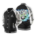 Naruto Chiyo Sunagakure Puppet Brigade Black Baseball Jacket