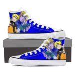 Naruto Minato Like Father Like Son Cool Blue Sneakers Shoes