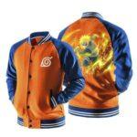 Naruto Minato Namikaze Yellow Flash Orange Baseball Jacket