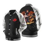 Naruto Nagato Six Paths of Pain Puppet Black Baseball Jacket