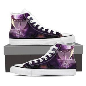 Naruto Shadow Clone Hand Sign Cool Violet 3d Sneakers Shoes
