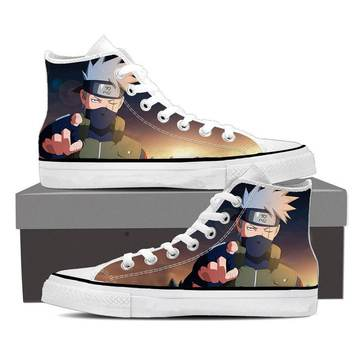 Naruto Shinobi War Third Division Commander Sneakers Shoes