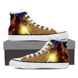 Naruto Shippuden Hero Come Back Dope Orange Sneakers Shoes