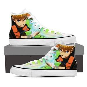 Naruto Shippuden Lightning Rasengan Awesome Sneakers Shoes