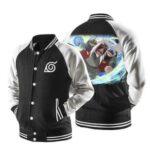 Naruto Skilled Jiraiya Sage Mode Rasengan Baseball Jacket