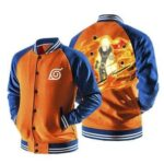 Naruto Uzumaki Six Path Sage Mode Form Orange Baseball Jacket
