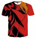 Naruto Akatsuki Obito Mask Dope Design Trendy T-Shirt